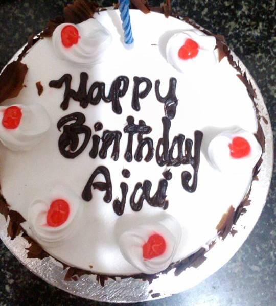 Birthday Cake Images With Name Ajay : Happy Birthday to AJAY Madraasi - a tamilian tales