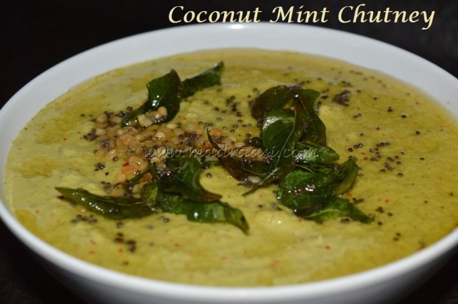 Coconut Mint Chutney