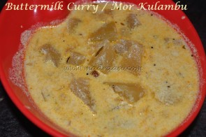 Buttermilk Curry / Mor Kulambu