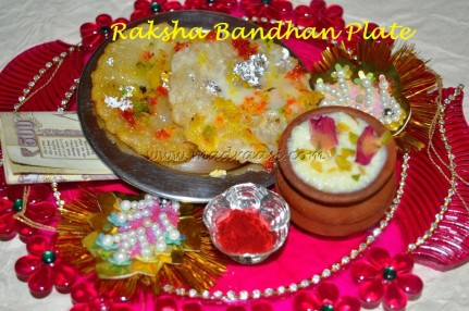 Raksha Bandhan Plate