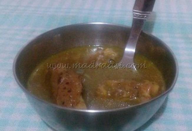 Lamb leg soup / Aatu kaal soup