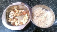 Fried nuts and poha