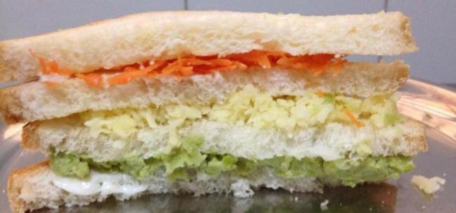 Tricolor Sandwich