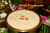 Aval Payasam / Flattened rice Kheer