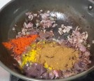 Liver with all spice powders