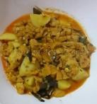 Aloo Soya gravy / Potato Soya gravy
