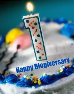 First Blogiversary