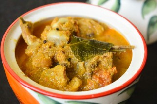 Mutton Bones Curry / Elumbu Kulambu