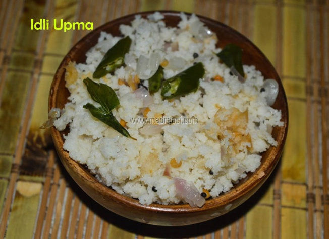 Idli upma, Idli upma recipe, idly upma, idly upma recipe, how to make idly upma with leftover idly, how to make idli upma with leftover idli, breakfast recipe, upma recipe, how to make upma, madraasi breakfast recipes, south Indian breakfast recipes, tamil nadu breakfast recipe, madraasi recipes