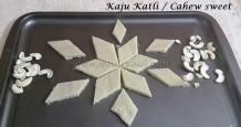 Kaju Katli / Cashew Sweet