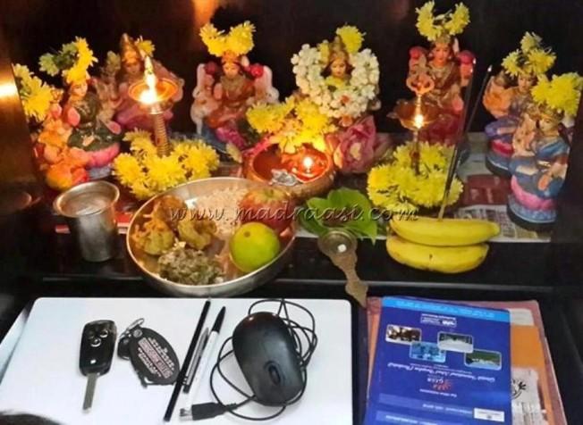 Saraswati puja and Ayudha puja