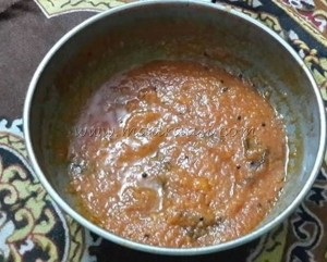 Tomato dip / Tomato Chutney