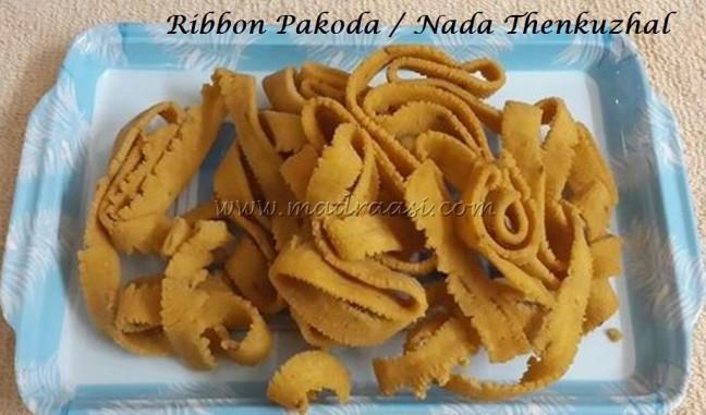 Ribbon pakkoda / Nada Thenkuzhal