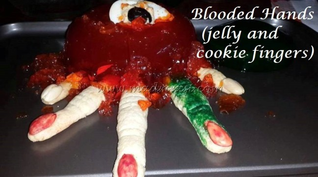 Blooded Fingers (jelly and cookie fingers)
