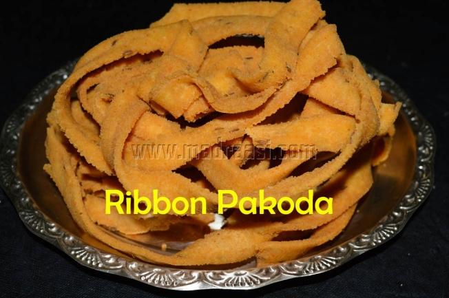 Ribbon Pakoda, Ribbon Murukku, ola pakoda, images of ribbon murukku, pictures of ribbon murukku, images of ribbon pakoda, pictures of ribbon pakoda