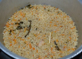 Rice done