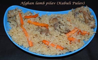 Afghan lamb pilaf (Kabuli pulav)