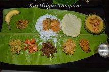 Karthigi Deepam lunch