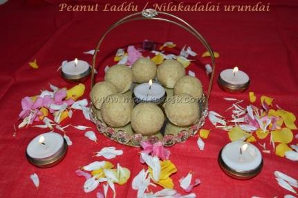Peanut laddu / Nilakadalai urundai