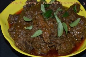 Duck curry / Vaathu kulambu - 3