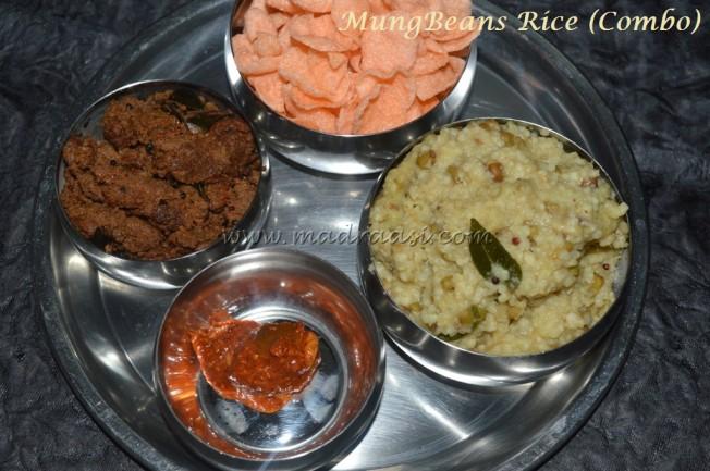 MungBeans Rice - Combo