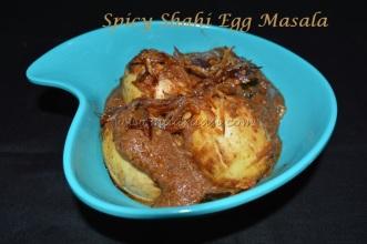 Spicy Shahi Egg masala