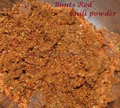 Bunts Red Chili Powder