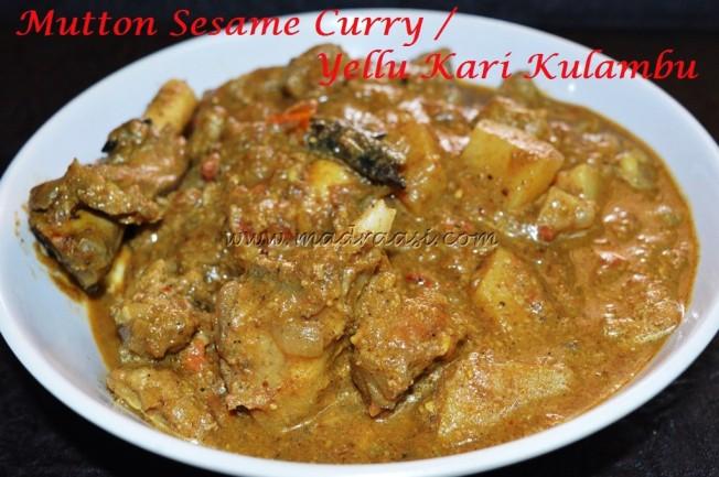 Mutton (Lamb) Sesame Curry