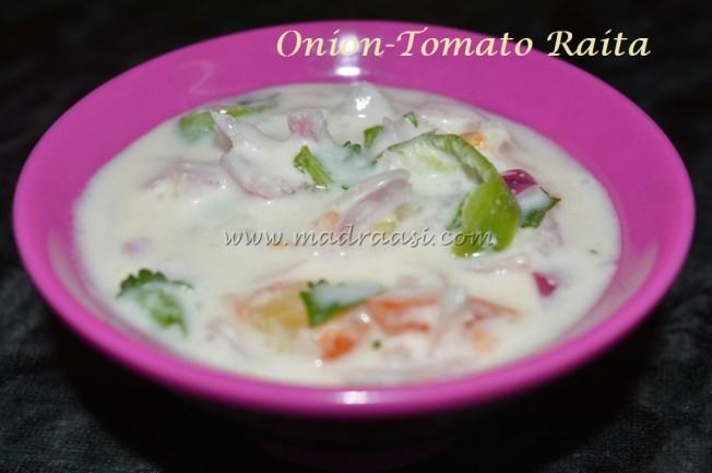 Onion-Tomato Raita
