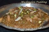 Muskmelon / Cantaloupe / Kirnipalam Pudding