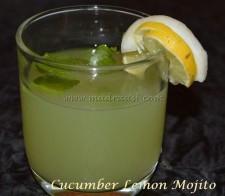 Cucumber Lemon Mojito