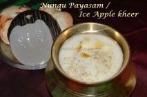Nungu Payasam / Ice Apple Kheer