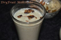 Dry Fruits Milkshake with out filtering