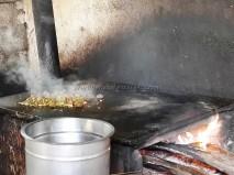 Village style kitchen