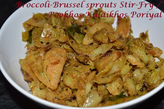 Broccoli-Brussel sprouts Stir-Fry