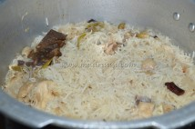Pressure cooked pulav