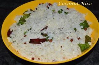 coconut rice, thengai sadham, coconut rice recipe, thengai sadham recipe, how to make coconut rice, how to make thengai sadham, tamil coconut rice, tamil nadu coconut rice, south Indian coconut rice, Indian coconut rice, thengai sadham seimurai, how to cook coconut rice, coconut rice in tamil, thengai sadham picture, thengai sadham image