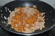 With eastern condiments - Beef Ularthu Masala