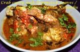 crab curry, crab curry recipe, nandu kulambu, nandu kulambu recipe, nandu murungakeerai kulambu, nandu murunga keerai kulambu recipe, crab curry with moringa leaves, crab curry with moringa leaves recipe, nandu kulambum nandu kulambu recipe, tamil crab curry, crab curry in tamil, nandu kulambu seimurai, madraasi nandu kulambu, madraasi seafood curry, madrasi nandu kulambu, madrasi seafood curry, tamil recipe, tamil food, Indian crab curry, tamil nadu crab curry, tamil nadu crab curry recipe