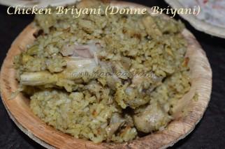 Chicken Donne Briyani