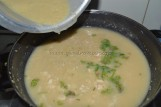 with red lentils