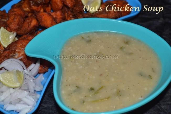 Oats Chicken Soup