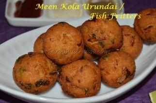 Fish Fritters / Meen Kola Urundai