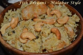 Fish Briyani - Malabar Style