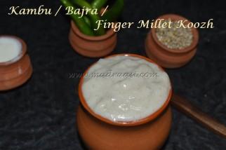 Kambu / Bajra / Pearl Millet Koozh