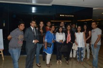 A group picture with our fellow foodies and with the manger of the outlet