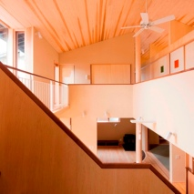 Double height ceiling