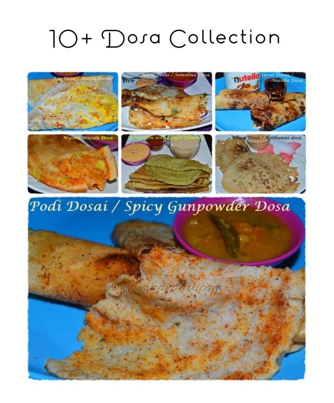 10+ Dosa Collection