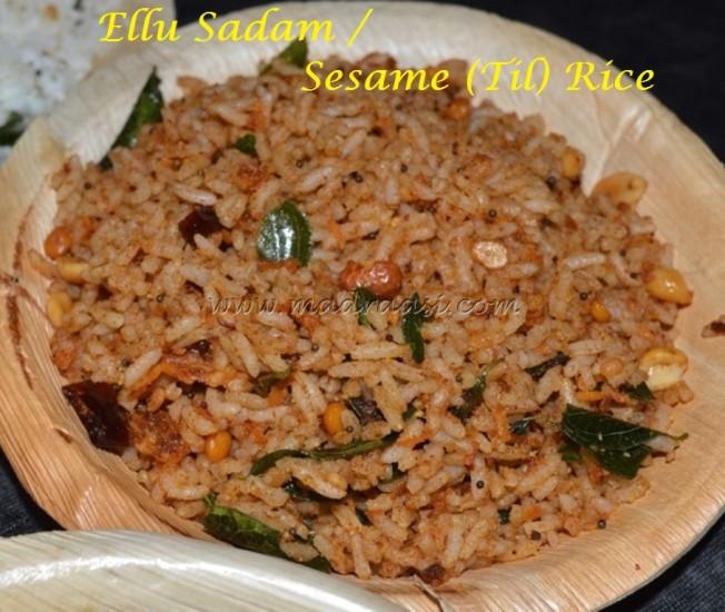Ellu Sadham / til Rice / Sesame Rice