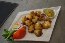 Fish Tikka with Mustard Sauce